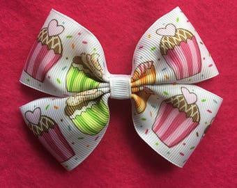 Cupcake Hairbow