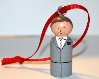 Customizable Missionary Ornament