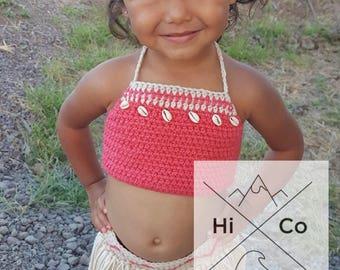Disney's Baby Moana Outfit, Baby Moana Costume, First Birthday Moana Theme, Crochet Baby Moana Costume, Crochet Disney, Baby Moana, Moana