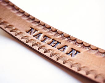 Leather Bookmark | Personalized