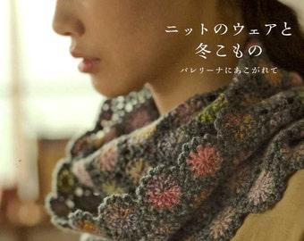 Pretty Crochet & Knit Winter Items - Japanese Craft Book MM