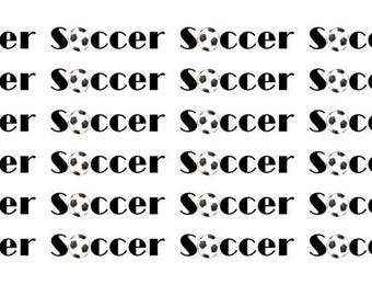 Soccer Wordy Icons WI0041