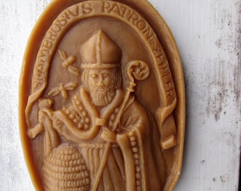 Beeswax Casting Patron Saint of Beekeepers
