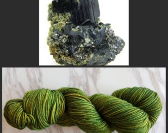 Hand Dyed Yarn, Merino, DK Weight Tonal Yarn, Perfect for Hats, Scarves, Sweaters and all Winter Accessories - Hornblende