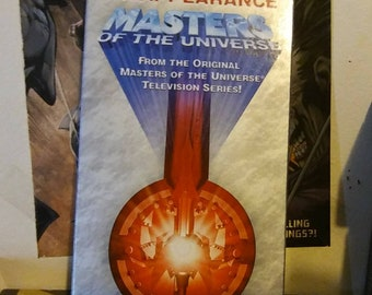 Masters of the Universe - Diamond Ray of Disappearance - Special Commemorative Video VHS