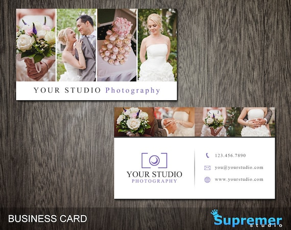 Photography Business Card Template Business Card For - Photography business cards templates for photoshop