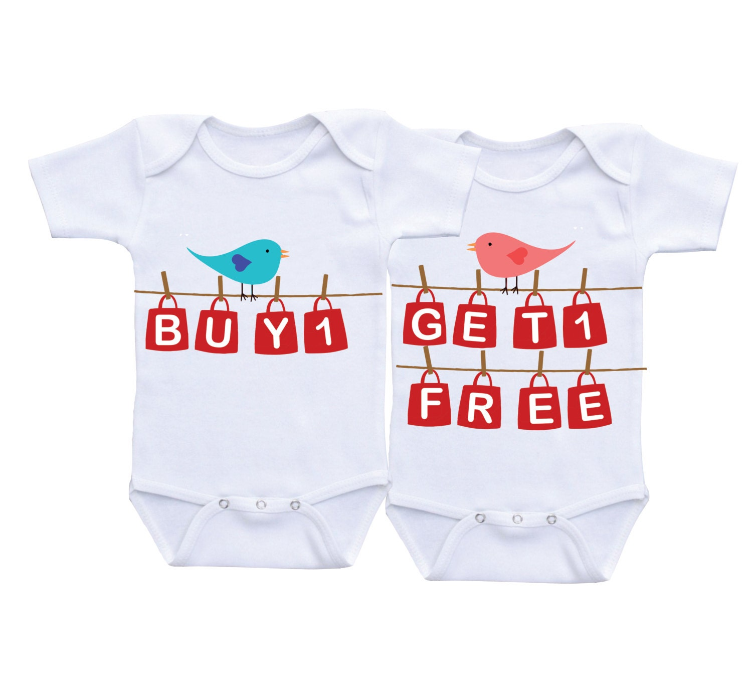 Buy e Get e Free Funny Twin esies Twin Matching