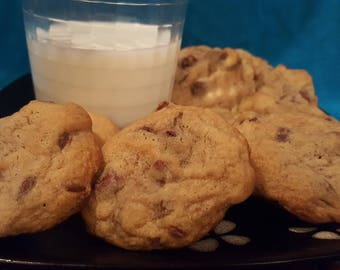 Chocolatey chocolate chip cookies (Baker's Dozen)