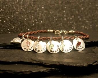 Modern Family Sterling Silver Charm Bracelet