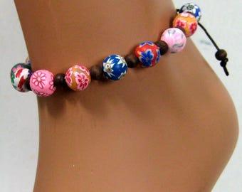 Anklet N2940 polymer beads
