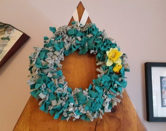 Shabby Chic Spring Easter Wreath