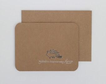 2014 Bible verse card - «Happy hedgehog» Nehemiah 8: 10