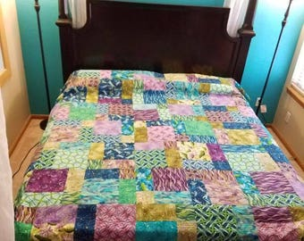 California King Dragonfly Quilt