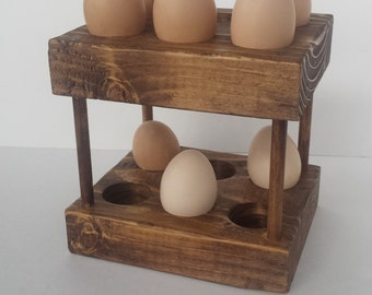 Double Deck Egg Holder