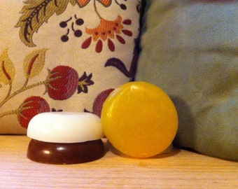 Round Shaving Soap for Shaving Bowls/Cups