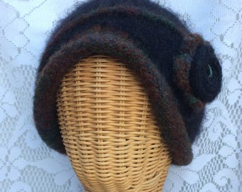 Felted Cloche