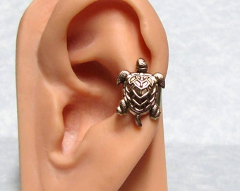 Nautical Ear Cuff Sea Turtle