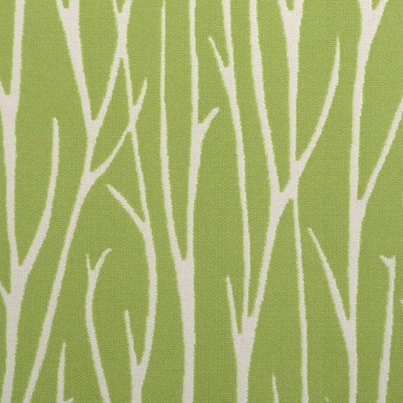 Very best Lime Green Abstract Upholstery Fabric with Grass Scenic SE42