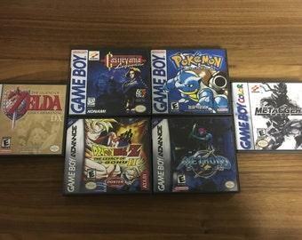 Gameboy/Color/Advance Game Case