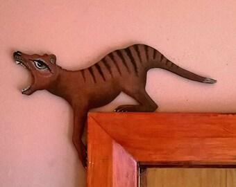 Thylacine Door Hanger