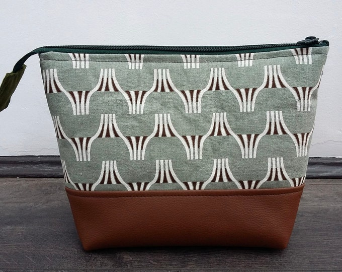 Fish Tails Toiletry Bag