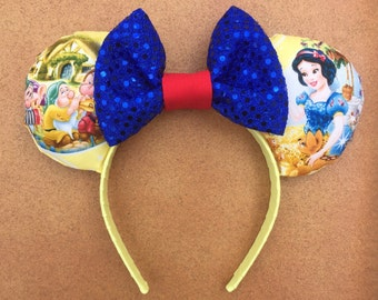 Disney Snow White and the Seven Dwarves Minnie Mouse Ears