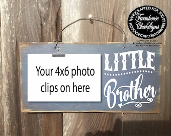little brother, little brother gift, little brother sign, brother, brother sign, brothers gifts, brother sign, brother decor, 278