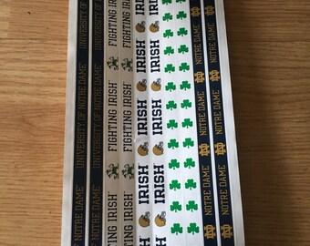 Notre Dame scrapbooking stickers
