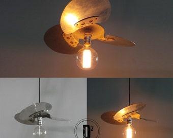 Fan Blade Pendant Lamp