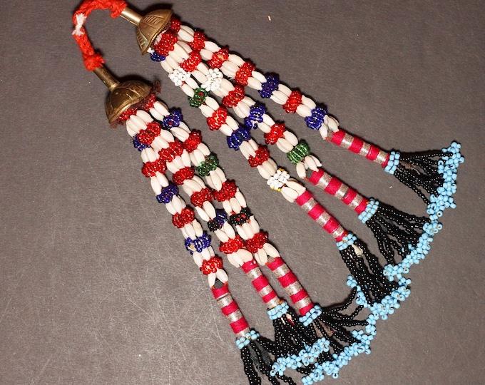 Turkman Tribal DANGLES Bellydance ATS Kuchi Turkoman 622r7
