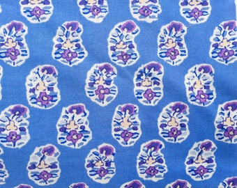 Kaffe Fassett Asha blue GP 75 Rowan Fabrics FQ or more