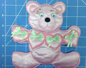 Baby Bear Embroidery Applique