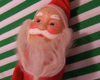 vintage santa claus knee hugger