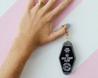 Motel Keyring - Self Care Club