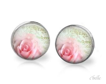 Ear studs of pastellener cherry blossom 14