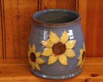Sunflower Utensil Holder