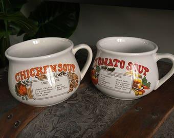 Soup cup set
