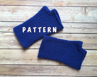 Crochet Fingerless Gloves Pattern, PDF Download PATTERN,