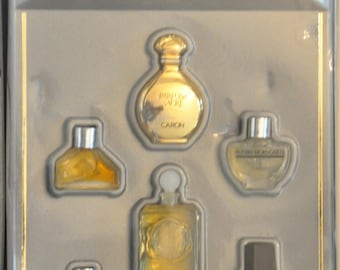Caron Miniature Collection Composed of 6 Various Vintage Rare Vintage 1991 New