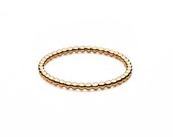 Ball closure rings • mini • gold