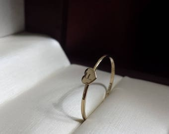 Solid 14kt yellow gold initial ring , A , B , C , D , E , F , G , H , I , J , K , L , M , N , O , P , Q , R , S , T , U , V , W , X , Y , Z