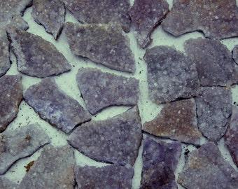 Druzy Amethyst Drusy Rock Formation - Amethyst Druzy (RK9B1)