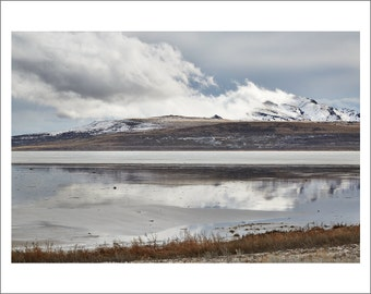 Antelope Island - Salt Lake City - Utah - Color Photo Print - Fine Art Photography (SLC06)
