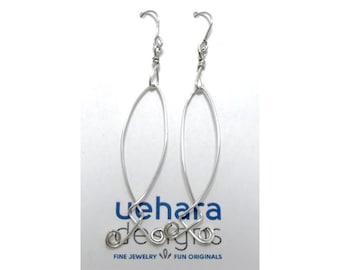 Earrings, Fun Sterling Silver Dangle Earrings