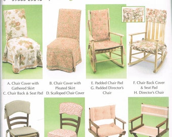 Amazing Chair Cover Sewing Pattern   Chair Pad   Directors Chair Pattern   Wooden  Chair Slip Cover