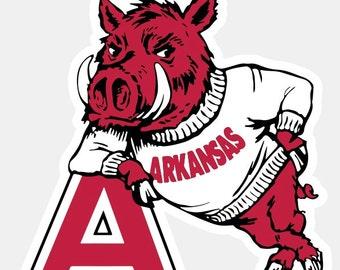 arkansas etsy rh etsy com Arkansas Razorback SVG Graphic Arkansas Razorback Art