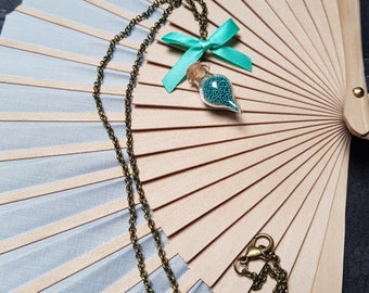 Turquoise Mini Bottle Necklace