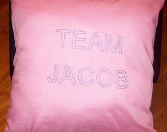Twilight Inspired, Team Jacob, Throw Pillow