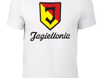 Jagiellonia Bialystok Football Club T Shirt Jersey Plus Sizes S-5XL