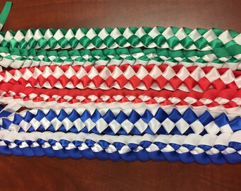 Handbraided Ribbon Leis - Ready to Ship